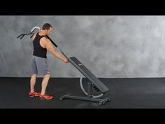 The best adjustable weightlifting bench and most versatile weight bench in the world. Not just a dumbbell bench, but the top choice for any small gym.