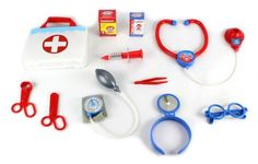 Ultimate Lil Doctor Pretend Play Toy Medical Kit Play Set, Perfect for Role Playing, Comes w/ Everything Needed * See this great product.