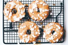 Vegan Lemon Lavender Donuts
