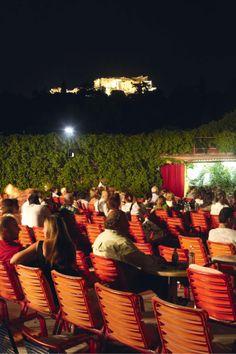 summer movie under the Acropolis...