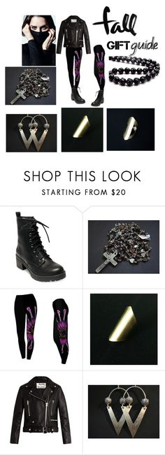 """""""Fall Gift Guide"""" by anna-recycle ❤ liked on Polyvore featuring Madden Girl, Acne Studios, modern, rustic and vintage"""