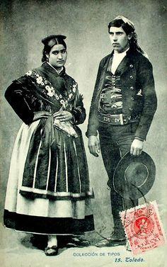 Postales antiguas de Toledo: Trajes típicos