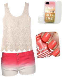"""Summer here we come!!!"" by horselovingirl ❤ liked on Polyvore"