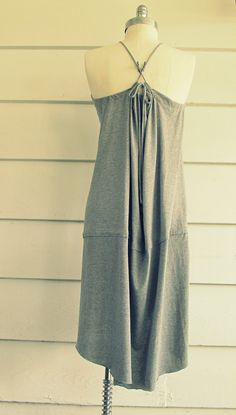 Make you own Sundress out of two Extra large tee-shirts.   This does require some sewing, nothing too crazy, just simple sewing.         ...