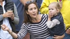 Princess Mary rooting for Ironman Frederik, 18 August 2013