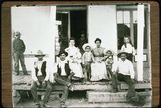 Basque Families - Paradise Valley, Nevada   -  Members of the Echeverria and Mendiola families