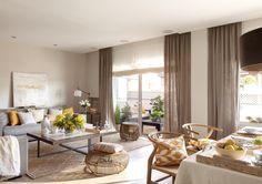 00424403 O (Copy). salon comedor y terraza de un piso con estilo natural