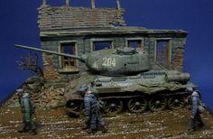 """1:35 diorama """"Retreat 1944"""""""