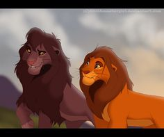 Friendly Advice by SEGAmastergirl on DeviantArt Lion King Tree, Lion King Fan Art, Lion King 2, Lion Art, Disney Lion King, Lion King Series, Lion King Drawings, Lion Sketch, Lion King Pictures