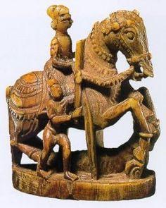Chess piece/Chahaturanga/India-