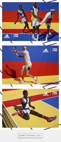 Pharrell Williams Releases His First Adidas Tennis Collection | Observer - created via