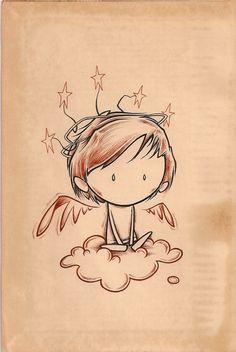 Kurt Halsey - Angel tattoo inspiration