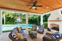 Outdoors   Patio   Loggia   Furniture   Fireplace   Ceiling   Pool   Casatopia   Interior Architecture + Design
