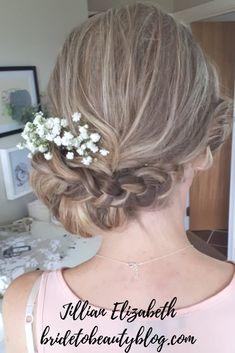bridal hair, hair flowers, bridesmaids hair, flowers in hair Hair And Makeup Artist, Hair Makeup, Bridesmaid Hair, Bridesmaids, Hair Flowers, Professional Hairstyles, Bridal Hair, Wedding Hairstyles, Hair Styles