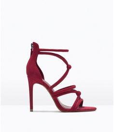 Des sandales torsadées