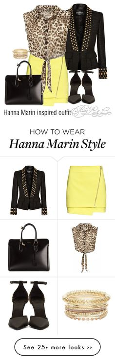 """Hanna Marin inspired outfit/TVD"" by tvdsarahmichele on Polyvore"