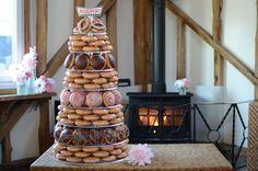 Ganar un Krispy Kreme Doughnut Torre | Rock My boda
