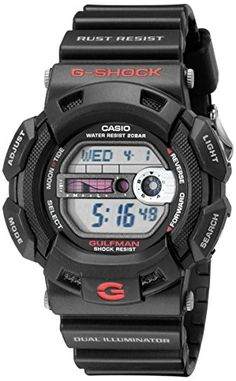 G-Shock Men s Black Resin Sport Watch  You ve been tracking the storm all  week and today af3d9f3f96
