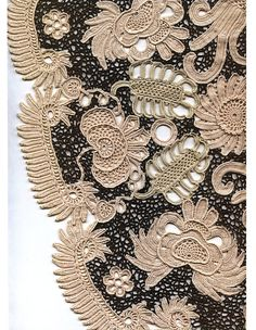 Irish lace. Discussion on LiveInternet - Russian Service Online Diaries