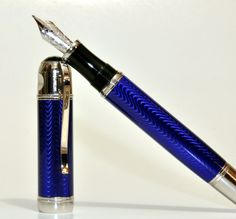 Montblanc Jules Verne. Maybe the most beautiful fountain pen in the world. Number one on the Wish List.
