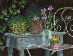 Irises,Michael Humphries