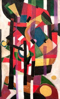 Oscar Gauthier (France, 1921-2009) / COMPOSITION 1950