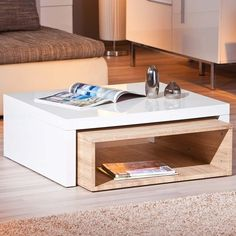 Table basse chêne design Zola ATYLIA