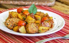 30-Minute Hearty Italian Sausage and Potatoes from The Slow Roasted Italian