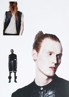 Rick Owens SS16.  menswear mnswr mens style mens fashion fashion style campaign lookbook rickowens