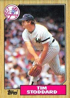1987 Topps #788 Tim Stoddard - New York Yankees (Baseball Cards) by Topps. $0.88. 1987 Topps #788 Tim Stoddard - New York Yankees (Baseball Cards)