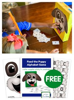 Free Alphabet Game - Letter Identification Fun! #1plus1plus1 #alphabet #letterID #PreK #Kindergarten Upper And Lowercase Letters, Lower Case Letters, Reading Lessons, Reading Skills, Hands On Activities, Preschool Activities, Alligator Crafts, Free Worksheets For Kids, Alphabet Games