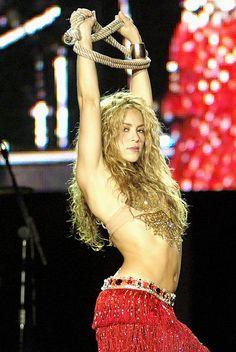 Shakira ojos asi