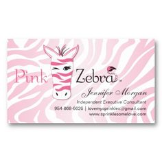 Pink zebra pink zebra pinterest pink zebra pink zebra business cards for the pink zebra at home consultants colourmoves