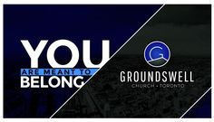 #groundswellchurch Meant To Be, Graphics, Logos, Charts, Graphic Design, Logo