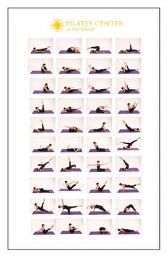 Different pilates moves