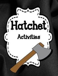 Hatchet - Novel Activities Unit 20% off for 48 hrs