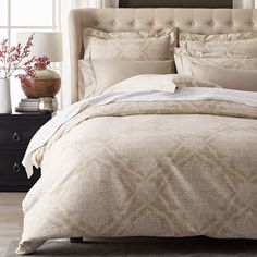 With Ivory Blanket Legends Nottingham 600 Thread Count Duvet Cover The Company