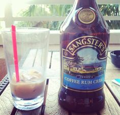 Sangsters Coffee Rum Cream (product of Jamaica) Cosmopolitantravels.com 800-303-7901 #cheers #cosmopolitantravels