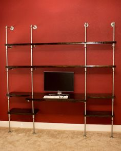 Industrial Office Wall Unit
