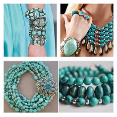everyday a different color, beautiful gifs, soft goth, nature. Diy Body Chain, One And Only, Turquoise Necklace, Jewelry Ideas, Wire, Memories, Beautiful, Color, Turquoise Accessories