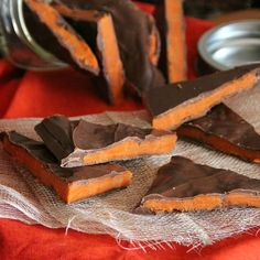 Homemade Butterfinger Bark - only 3 ingredients!