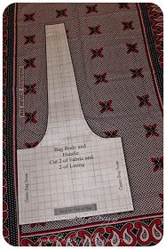 I can't take the credit for this bag! I found this tutorial a couple months before Christmas from the blog The Destashification Project ...a...