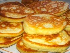 Pancakes at yogurt & quot; Hungarian Recipes, Russian Recipes, Russian Cakes, Tasty, Yummy Food, Galette, Kefir, Unique Recipes, Baking Recipes