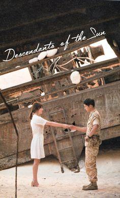 [Descendants of the sun] Korean Drama Korean Drama Series, Korean Drama Quotes, Songsong Couple, Best Couple, Descendants Of The Sun Wallpaper, Song Hye Kyo Descendants Of The Sun, Kdrama, Decendants Of The Sun, Song Joon Ki