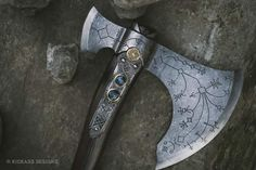 Post with 4506 votes and 135205 views. Shared by Made this leviathan axe for a client, turned out pretty good Odin's Spear, Polyurethane Resin, Prop Making, Best Albums, Freaking Awesome, God Of War, Pretty Good, Axe, Weapons