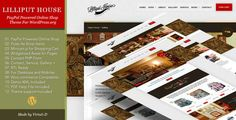 Lilliput House¨CTraditional Style WP Theme for Online Shop   RTL by virtuti Overview Lilliput House is online shop WordPress.org theme based on previously released HTML template and available for sale on Th