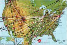 Magnetic Ley Lines In America Google Earth Overlay For Ley Lines