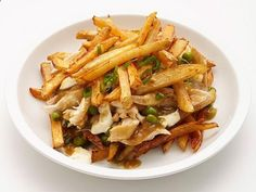 Get Chicken and Cheese Poutine Recipe from Food Network