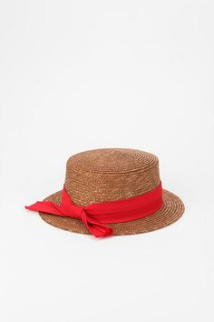 Brixton Autumn Boater Hat