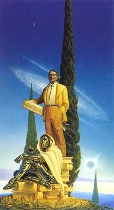 There was a small minority who said civilization owed ancient sci-fi writers a debt of gratitude.  It was their vision that paved the way toward the stars.  The rest of us told them to shut the fuck up and get back to work.